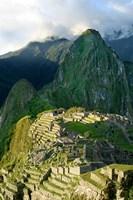 Peru, Machu Picchu, Morning Fine-Art Print