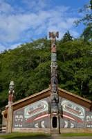 Alaska, Ketchikan, Totem Bight State Historical Park Fine-Art Print