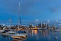 San Diego Harbor Skyline Fine-Art Print