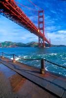 Beneath The Golden Gate Bridge Fine-Art Print