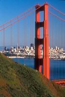 North Tower Of The Golden Gate Bridge Fine-Art Print