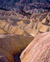 California, Death Valley NP, At Zabriskie Point Fine-Art Print