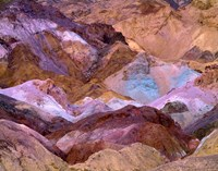 California, Death Valley Np, Artist's Palette Fine-Art Print