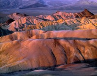 Eroded Mudstone, Death Valley Np, California Fine-Art Print