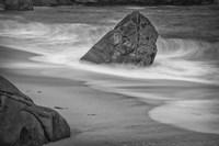 California, Garrapata Beach (BW) Fine-Art Print