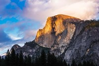 Evening Light On Half Dome, California Fine-Art Print