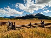 Dallas Divide, Last Dollar Ranch, Colorado Fine-Art Print