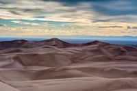 Great Sand Dunes National Park And Sangre Cristo Mountains, Colorado Fine-Art Print