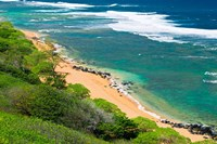 Larsen's Beach, North Shore, Island Of Kauai, Hawaii Fine-Art Print