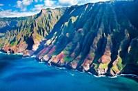 Kauai Coastline, Hawaii Fine-Art Print