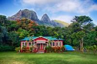 Anahola Baptist Church, Kauai, Hawaii Fine-Art Print
