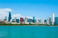 Skyline Of Chicago, Illinois Fine-Art Print