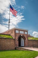 Historic Fort Mchenry, Birthplace Of The Star Spangled Banner Fine-Art Print