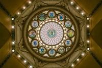 Rotunda Ceiling, Massachusetts State House, Boston Fine-Art Print