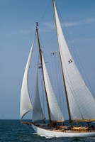 Schooner #22 Sailing, Massachusetts Fine-Art Print