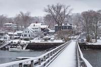 Cape Ann In The Winter, Massachusetts Fine-Art Print