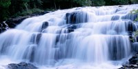 Wide Cascade Of Bond Falls On The Ontonagon River Fine-Art Print