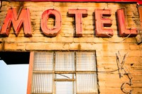 Old Motel Sign, Route 66 Fine-Art Print