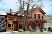 An 1862 Gold Rush Town In Bannack, Montana Fine-Art Print