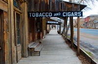 Tobacco Gold Rush Store In Virginia City, Montana Fine-Art Print