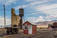 Detail Of Historic Railroad Station, Nevada Fine-Art Print