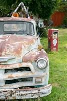 Rusted Antique Automobile, Tucumcari, New Mexico Fine-Art Print