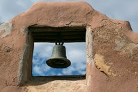 Adobe Church Bell, Taos, New Mexico Fine-Art Print