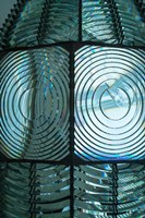 Close Up Pattern Of The Antique Fresnel Lighthouse Beacon Fine-Art Print