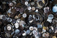 Pile Of Old Buttons Fine-Art Print
