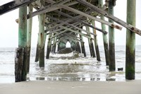 Oceanic Pier, Wilmington, North Carolina Fine-Art Print