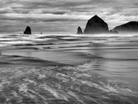 Cannon Beach, Oregon (BW) Fine-Art Print