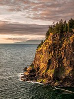Cape Meares State Park At Sunset, Oregon Fine-Art Print
