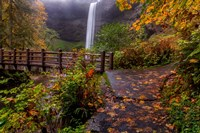 South Falls In Autumn, Oregon Fine-Art Print