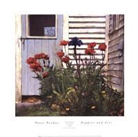 Poppies and Iris Fine-Art Print