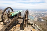 Cannon Perched On Lookout Mountain, Tennessee Fine-Art Print