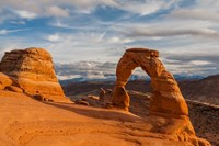 Delicate Arch At Sunsetm Utah Fine-Art Print