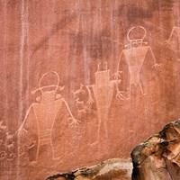 Fremont Pictoglyph Panel, Utah Fine-Art Print