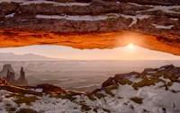 Sunrise At Mesa Arch, Canyonlands National Park, Utah Fine-Art Print