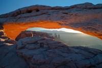 Overlook Vista Through Mesa Arch, Utah Fine-Art Print