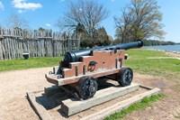 Jamestown Island Cannonm Virginia Fine-Art Print