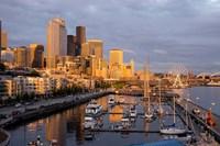 Seattle Skyline From Pier 66, Washington Fine-Art Print