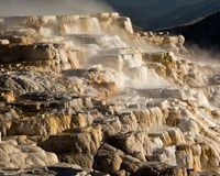Mammoth Hot Springs, Yellowstone National Park, Wyoming Fine-Art Print