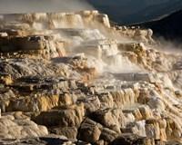 Mammoth Hot Springs, Yellowstone National Park, Wyoming Fine-Art Print