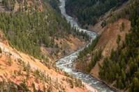 Inspiration Point, Yellowstone River, Grand Canyon Of The Yellowstone Fine-Art Print