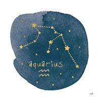Horoscope Aquarius Fine-Art Print