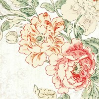 Cottage Roses V Fine-Art Print