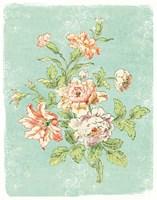 Cottage Roses IX Bright Fine-Art Print