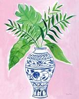 Elegant Chinoiserie I Crop Fine-Art Print