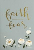 Faith Fear Flowers Fine-Art Print