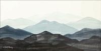 Blue Ridge Mountain Range I Fine-Art Print